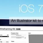 iOS7 Wireframe Kit